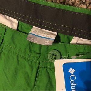 Green Columbia Shorts